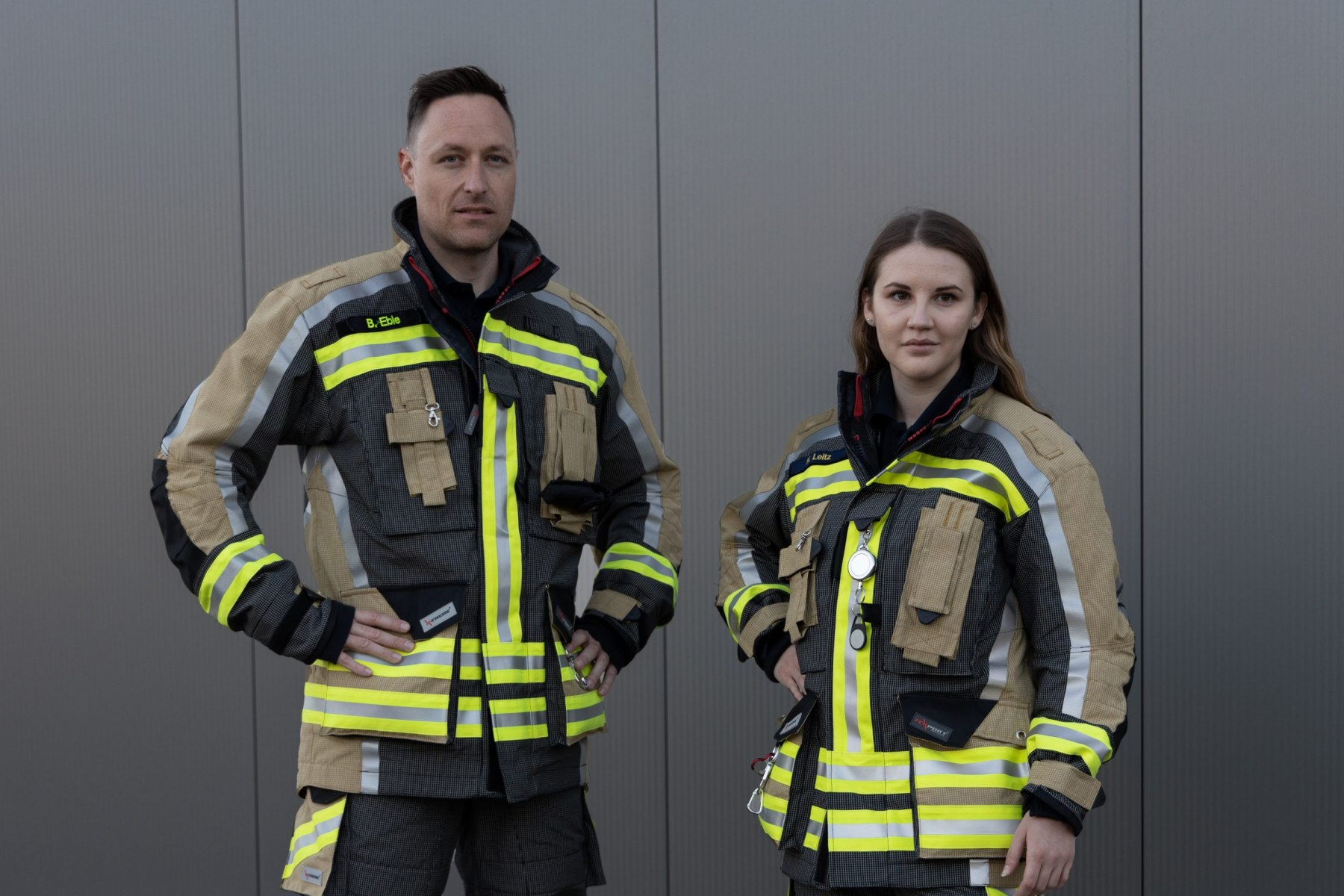 Die neue Einsatzkleidung der Feuerwehr Neckarsulm